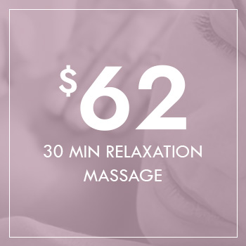 Gift Voucher - 30 Minutes Relaxation Massage for $62