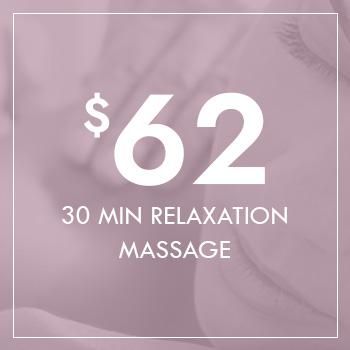 Gift Voucher - 30 Minutes Relaxation Massage