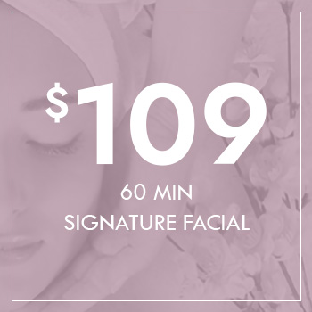 60 Minute Signature Facial for $109