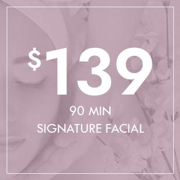 Gift Voucher - 90 Min Signature Facial