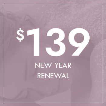 Gift Voucher - New year Renewal for $139