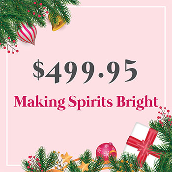 Making Spirits Bright for $499.95