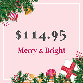 Merry and Bright for $114.95