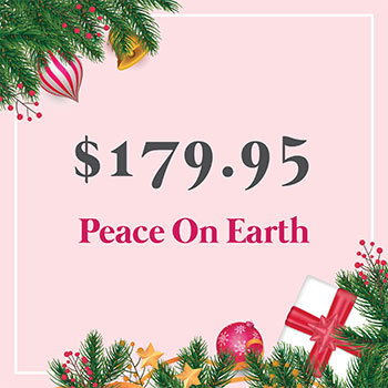 Peace on Earth for $179.95